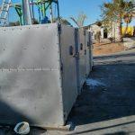 Makhteshim - installing electric barrels