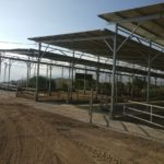 Kibbutz Yizre'el Construction of a cowshed + silage pit