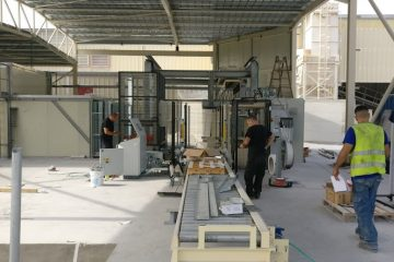 Ashbond – New blocks dryer
